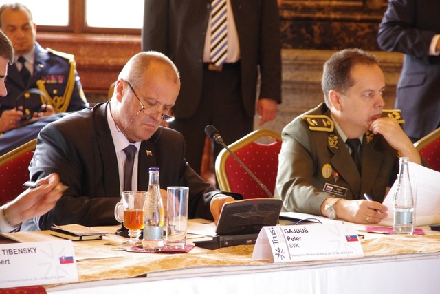 Minister of Defence of Slovakia, Peter Gajdos