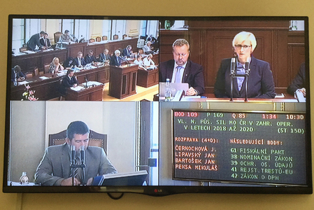 Deployment of Czech soldiers on foreign missions approved by the House of Deputies