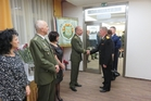 General Becvar meets with military attachés accredited to the Czech Republic