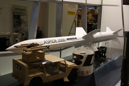 ASPIDE missile used by KUB air-defence system