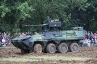 Wheeled Armoured Personnel Carrier Pandur II 8x8
