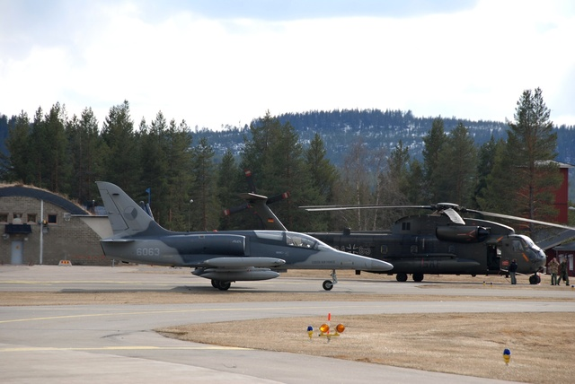 L-159 and CH-53