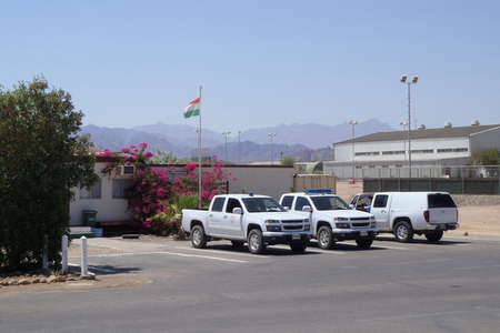 At the El-Gorah Base