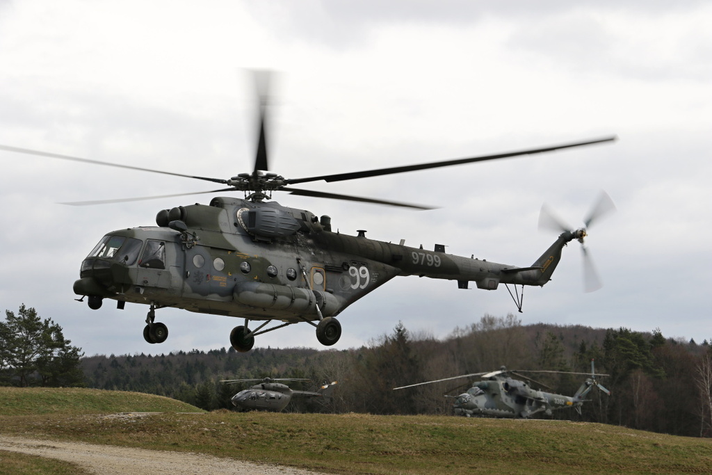 Mil Mi-171S from Namest Air Base