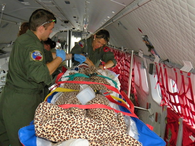 CASA aircraft transports wounded Ukrainians to the Czech Republic for medical treatment
