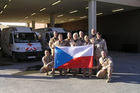 Czech Surgical Team works at the French Military Hospital in Kabul