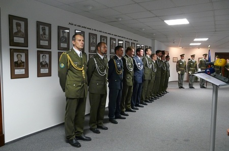 Soldiers honoured with medals for their service in Kosovo