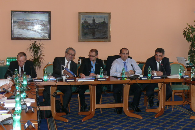 Committee on Defence of the Chamber of Deputies hold its meeting at the Ministry of Defence