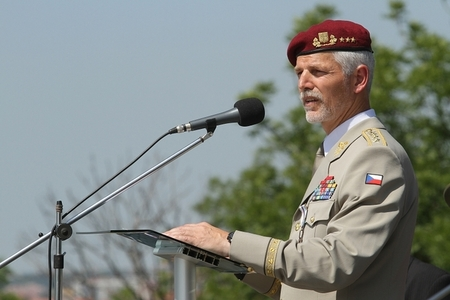 New Chief of the General Staff of ACR Lieutenant General Petr Pavel at his address