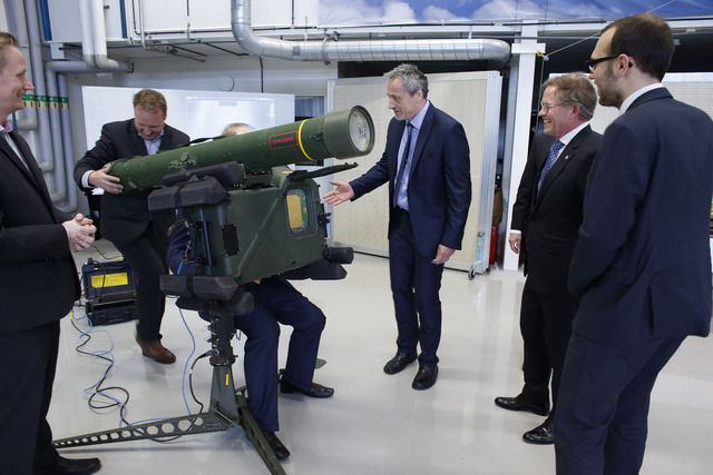 Demonstrating the new generation of the RBS missile system