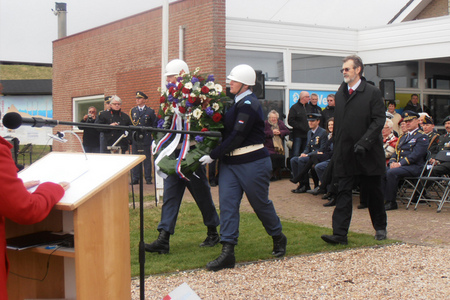 Jaroslav Horak, Ambassador of the Czech Republic to the Netherlands, to lay wreath