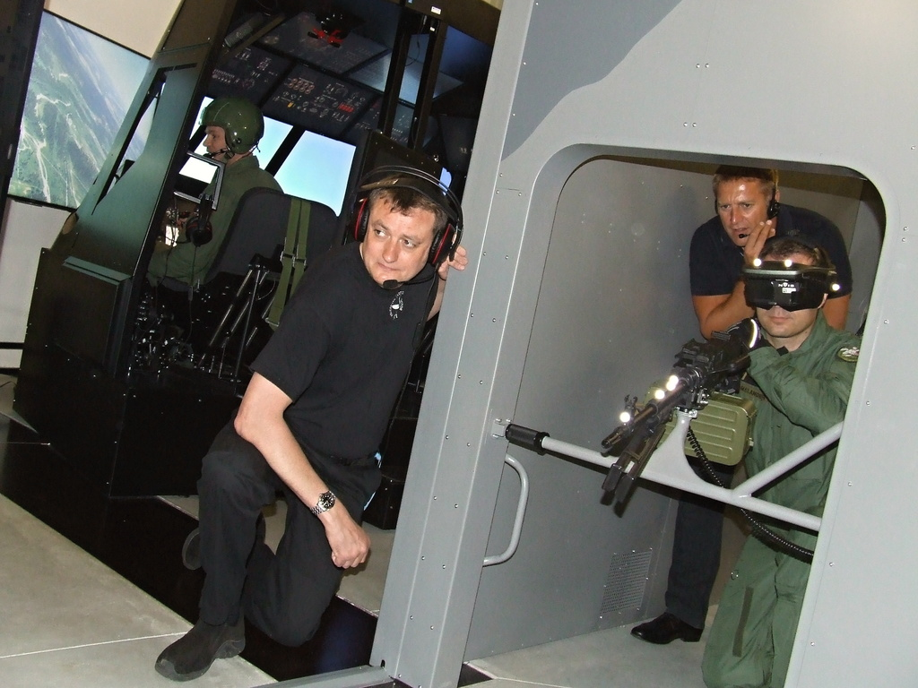 Training at the tactical simulator