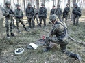 Paratroopers from Chrudim trained in Poland
