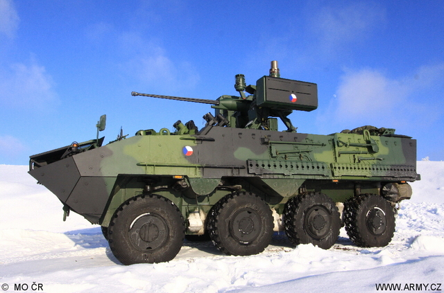 Armoured Personnel Carrier Pandur Ii 8x8 Ministry Of