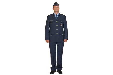 Service uniform 97 with jacket 97 and a garrison cap 97, Air Force