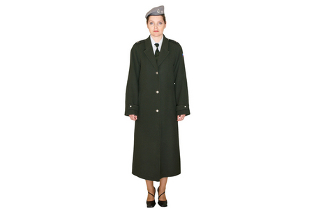 Parade uniform 97 with coat 97 and a beret, Land Forces