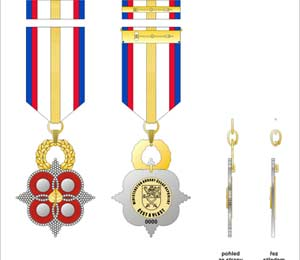 Golden Linden Decoration of Minister of Defence of the Czech Republic