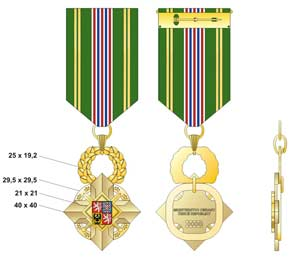 State Defence Cross of Minister of Defence of the Czech Republic