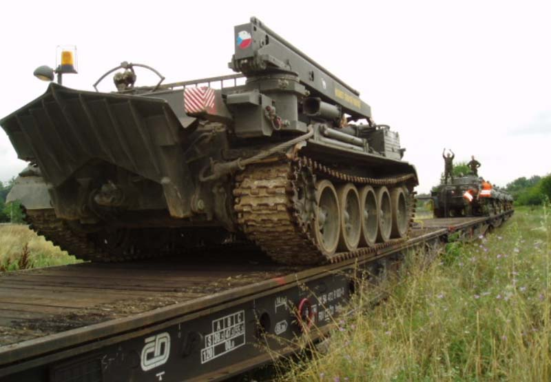 Recovery Tank Vt 55a Ministry Of Defence Amp Armed Forces