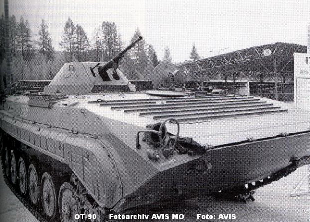 Armoured Personnel Carrier OT-90 | Ministry of Defence ...