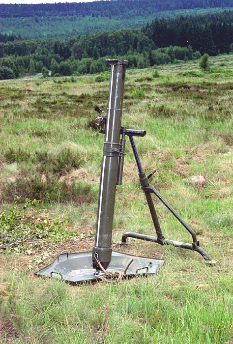Mortar 120 mm PRAM L, type 82   Ministry of Defence & Armed Forces of the Czech Republic