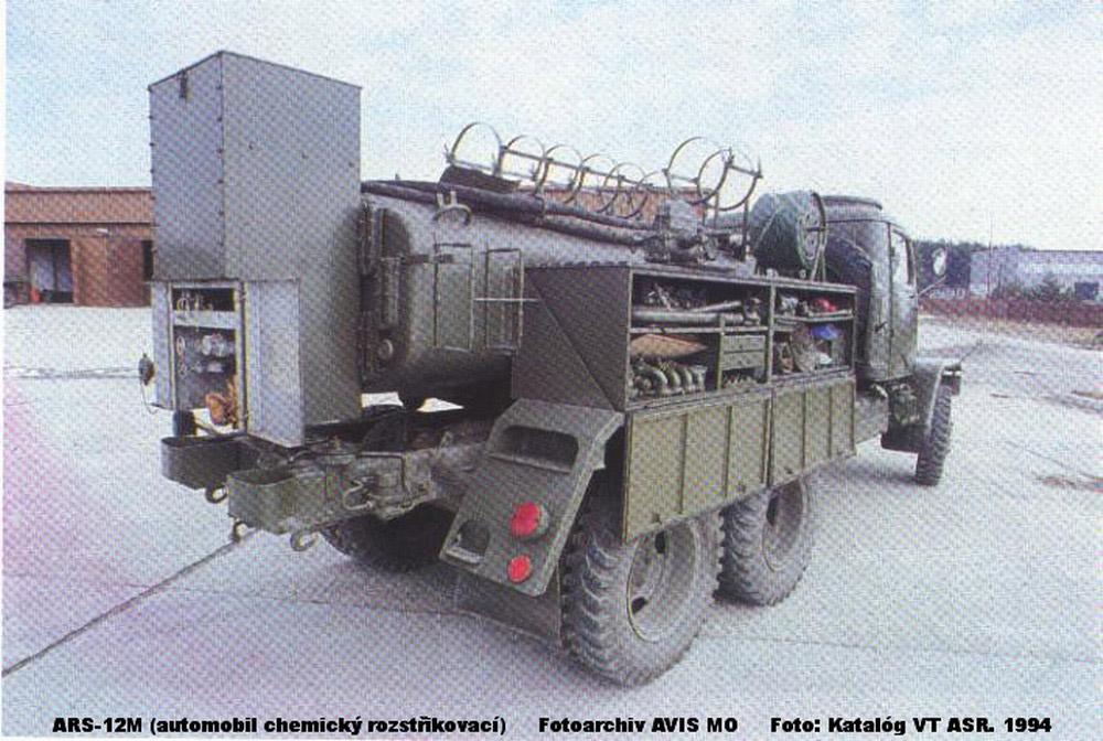 Nbc Decontamination Spray Vehicle Ars 12m Ministry Of