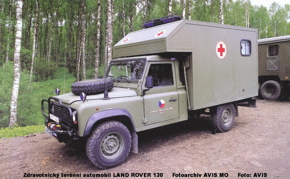 Medical Off Road Vehicle Land Rover 130 Ministry Of