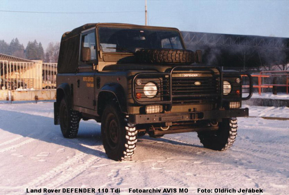 Land Rover 1 Ton Vehicle DEFENDER 110 TDi | Ministry of Defence