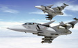 Illustration picture to the article JAS-39 Gripen Supersonic Aircraft