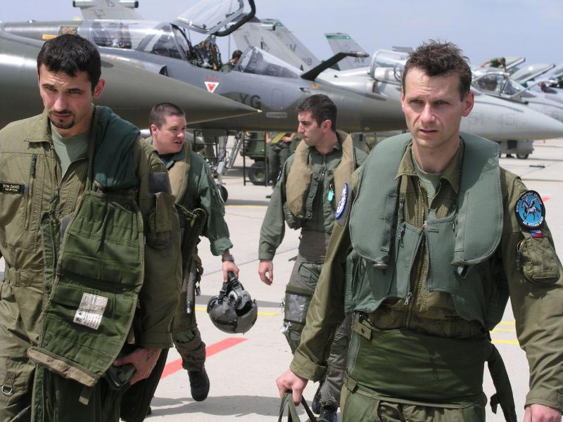 czech pilots participate in the tactical leadership
