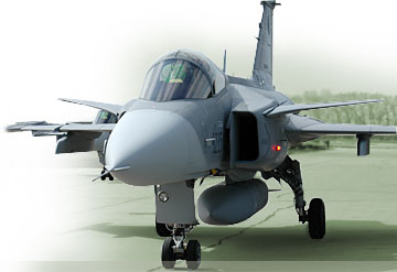SAAB JAS-39 Gripen Supersonic Aircraft
