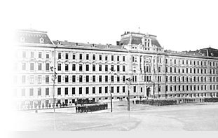 Historical Take of the Ministry of Defence Building